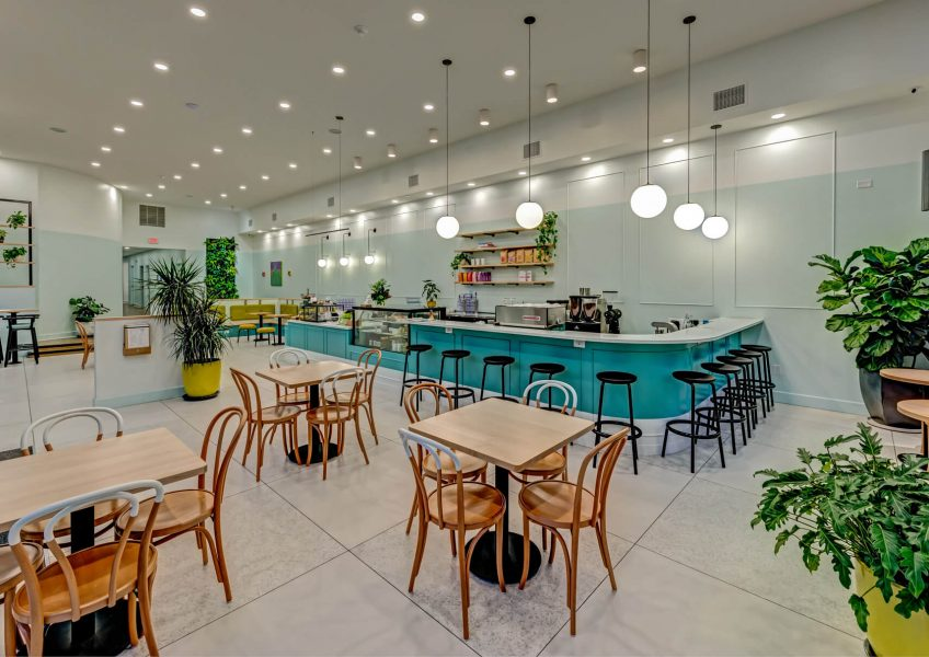 Prince Street Café Tables